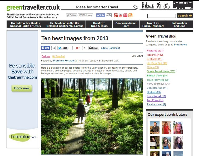 greentraveller 2013 best images
