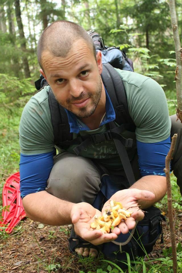 Henry Wismayer mushroom hunting