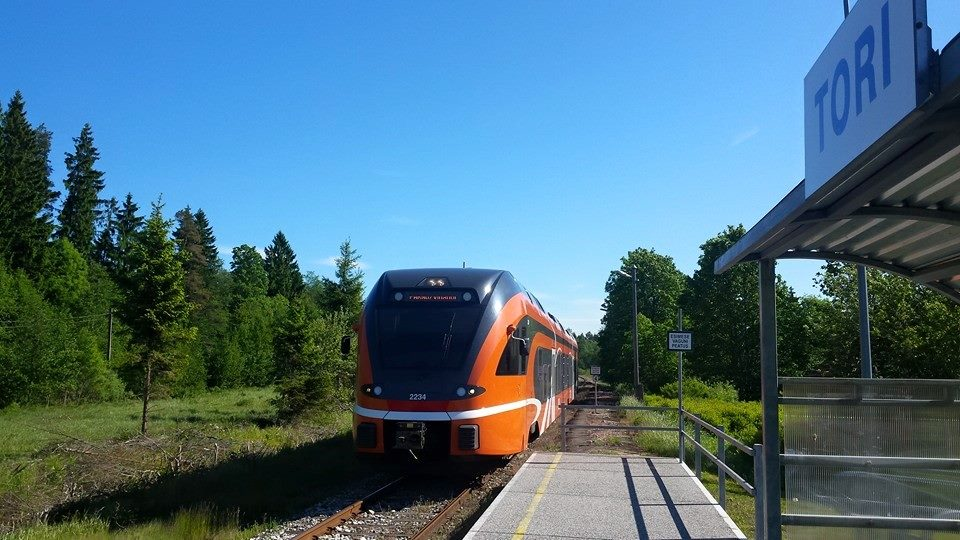 from Tallinn to Soomaa national park by train