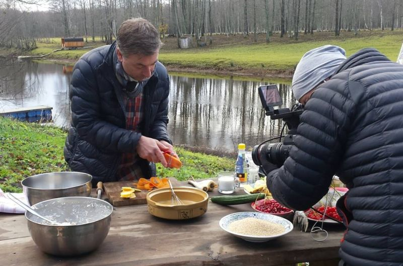 Tareq Taylor Nordic Cookery